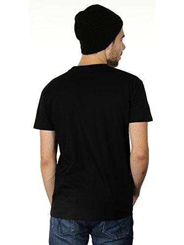 On Wednesdays We Wear Black - Herren T-Shirt von Kater Likoli Deep Black