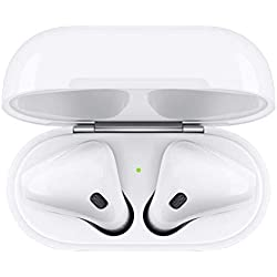 Apple AirPods avec boîtier de charge (Dernier Modèle)