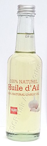 Yari - Huile d'Ail pour le corps et les cheveux - 250ml - 100 % naturelle