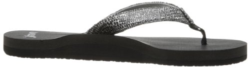 Reef Star Sassy, Tongs femme Multicolore - Mehrfarbig (BLACK/SILVER / BLS)