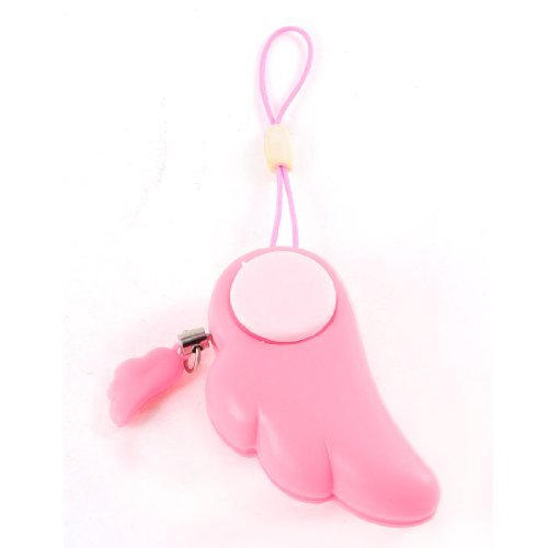 DealMux Phone Bag Hanging Strap Personal Guardian Angel Self Protection Alarm Bell Pink (Guardian Angel Bell)