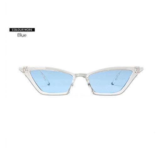 GJYANJING Sonnenbrille Nette Sexy Kleine Cat Eye Sonnenbrille Für Frauen Vintage Damen Sonnenbrille Weibliche Retro Cateye Eyewear Uv400