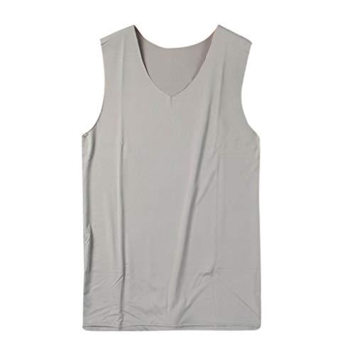 6d3125af9440f1 Camiseta de Manga Corta para Hombre Moda Estampado Calaveras T-Shirt de  Verano Cuello Redondo Algodón Cómodo Transpirables Básico Tops