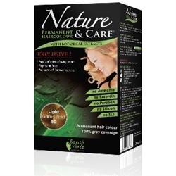 Santé verte - Nature & soin Blond Clair Doré 8G sans ammoniaque, sans paraben, sans silicone et sans résorcine