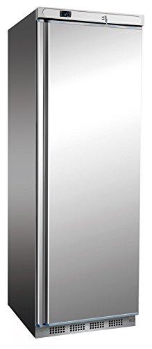 Edelstahl Tiefkühlschrank, 600x585x1850 mm, 400 L/258 L,