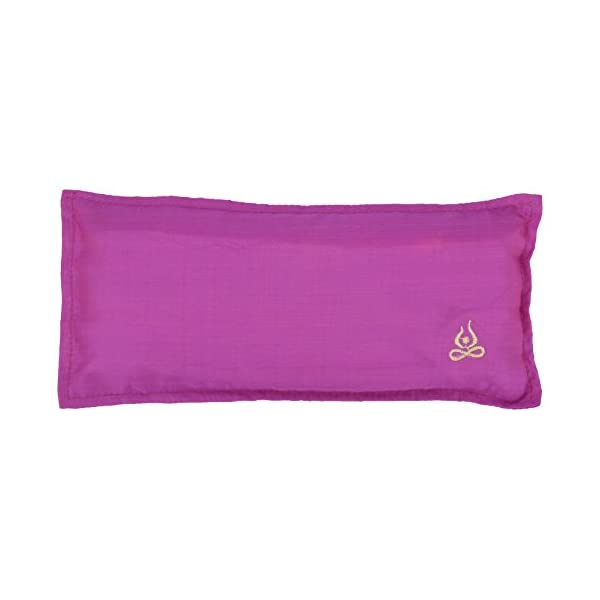 Yogasya - Eye Pillow - Scented with Lavender - Yoga Spa - Cotton ... 0413edd27cb