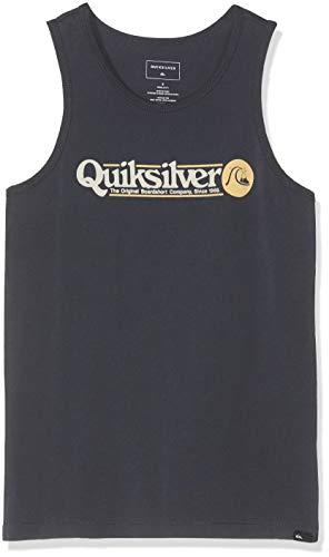 Quiksilver Jungen Art Tickle T-Shirt, Blue Nights, XL/16 - Quiksilver-jungen Kleidung