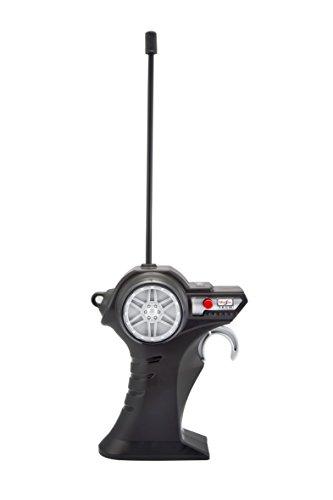 RC Spielzeug kaufen Spielzeug Bild 1: Maisto Tech R/C VW Bus Polizei: Ferngesteuertes Auto mit Licht & Sound, Maßstab 1:24, Pistolengriff-Fernsteuerung, 5.8 km/h, 20 cm, grün (582091P)*