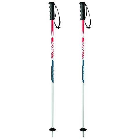 Atomic, AJ5005318100, Enfant 1 Paire de Bâtons de Ski de Course, Longueur 100 cm, Poignée Redster Junior PE, REDSTER 10 JR, Rouge