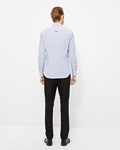 Tommy Jeans Herren Freizeithemd Blau (Black Iris 002)