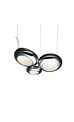 Aura Pendelleuchte (Sompex LED Pendelleuchte Aura 03S | LEDs fest verbaut 49W 3185lm warmweiß | 94240)