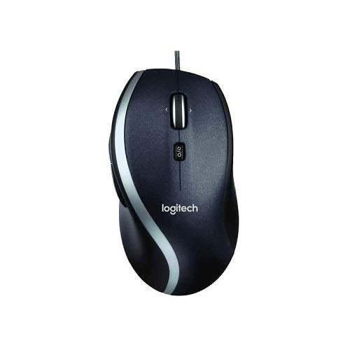 Logitech M500 kabelgebundene USB Corded Lasermaus (Kompatible mit Windows, Mac)