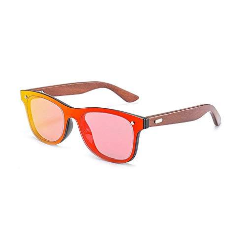 ANSKT Sandelholz-Sonnenbrille für Herren und Damen, polarisierte Gläser