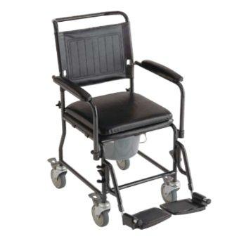 Invacare Silla ruedas WC inodoro 2 ruedas freno Cascata