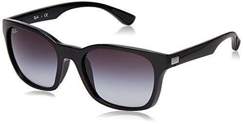 Ray-Ban Gradient Square Men's Sunglasses (601/8G|56.4 millimeters|Grey Gradient)
