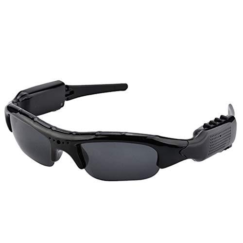 Niusion Outdoor Reiten Sonnenbrillen Sportkamera HD Brille für Männer und Frauen Bluetooth Kopfhörer Machen Sie EIN Foto