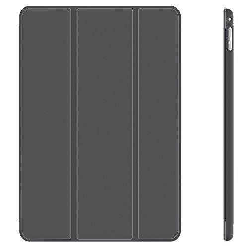 JETech Hülle Kompatibel Apple iPad Mini 4, Schutzhülle mit Ständer Funktion und Auto Schlafen/Wachen, Dunkel Grau