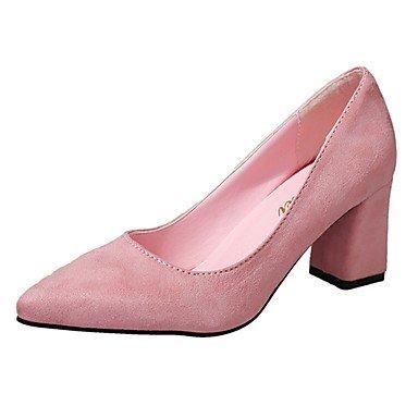 RTRY Donna Pantofole &Amp; Flip-Flops Comfort Estivo Pu Casual Chunky Heelblack Camminata Bianca US5 / EU35 / UK3 / CN34