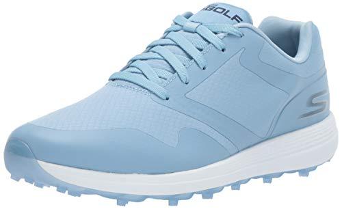 Skechers Frauen Max-Fade Low & Mid Tops Schnuersenkel Golf Schuhe Blau Groesse 6 US /37 EU Mid Top Schuhe