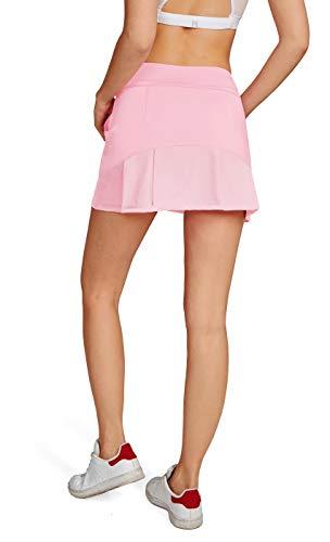 HonourSport-Jupe de Golf Mini Skort pour Fille/Femme Activité Sport