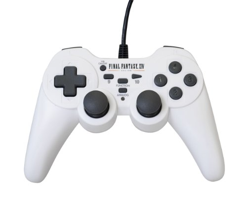 Final Fantasy XIV Online USB Wired Game Controller (PC) [Edizione: Regno Unito]