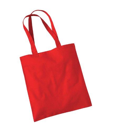 Westford macina da donna adulti ciuccio borsa a tracolla Rosso brillante