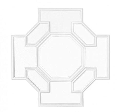 Casa-Padrino-Designer-Luxury-Wall-Mirror-White-80-x-H-80-cm-Luxury-Hotel-Mirror