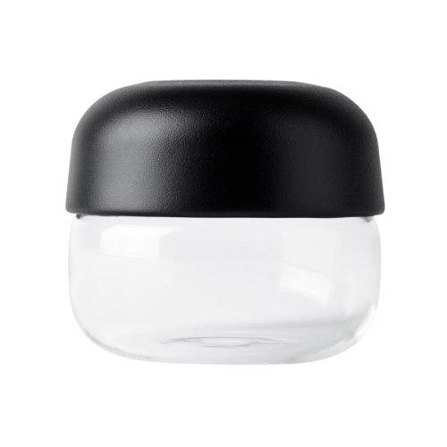 Menu 4710539 Teelichthalter Show Tealight, Höhe 8 cm, Durchmesser 9 cm, schwarz