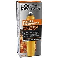 L'Oreal Paris Men Expert Roll-on Ojos Efecto Hielo Anti Bolsas y Ojeras Hydra Energetic para Hombre - 10 ml