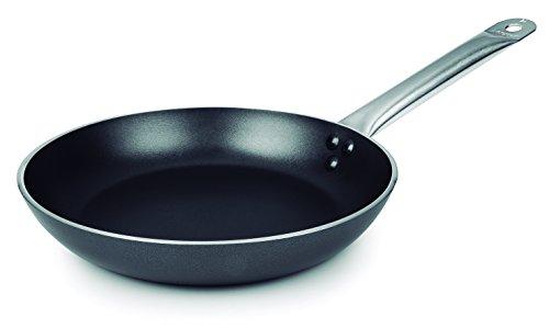 Lacor 23818 - Sartén Robust Plus Aluminio Antiadherente, 18 cm, Negro