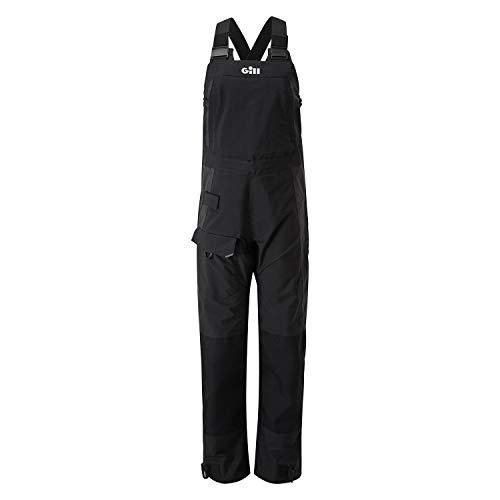Gill OS2 Womens Dropseat-Hose Graphite - Thermal Warm Heat Layer Schichten Leichtes, atmungsaktives Wasserdichtes Sprayproof -