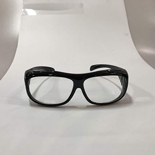 1997LM Herren Nachtsicht Staubdicht Fahrradspiegel Fahren Winddichte Sonnenbrille Black & White