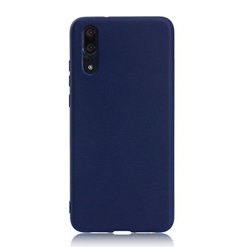 Cover für Huawei P20, Huawei P20 Handy Hülle, Asnlove Ultra Dünn Tasche TPU Handy Fälle Schutzhülle Handykappen Anti-Scratch Bumper Case mit Pure Motiv Silikon Schutzhülle Für Huawei P20 Smartphone