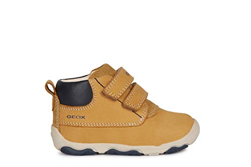 Geox B New Balu' Boy C, Zapatillas para Bebés, Beige Biscuit C5046, 23 EU