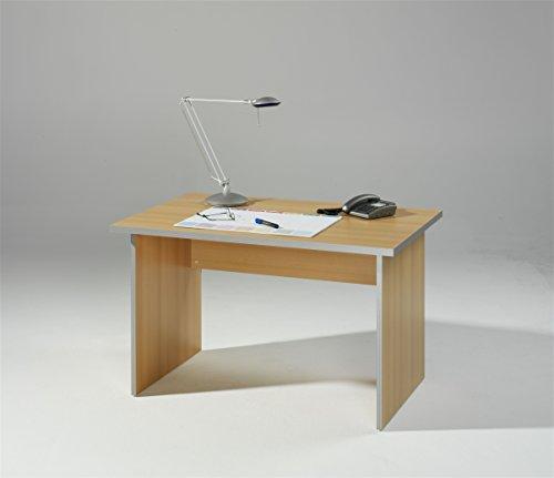 iovivo Schreibtisch Topeka, Buche Nachbildung mit Wangen
