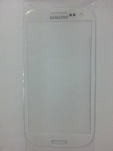 Cristal de reparacion Pantalla para Samsung Galaxy S3 Mini i8190 Blanco