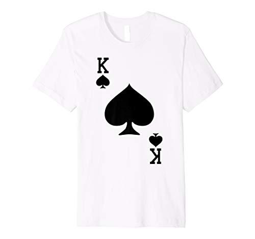 King Kinder Kostüm - King of Spades-Spielkarte Halloween-Kostüm T-Shirt