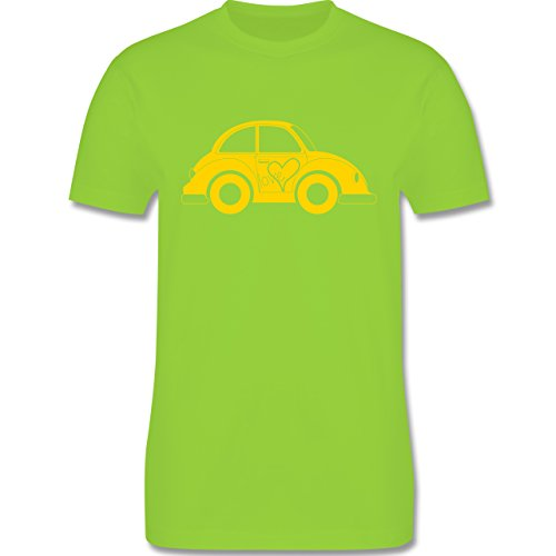 Autos - Liebes Beetle Auto - Herren Premium T-Shirt Hellgrün