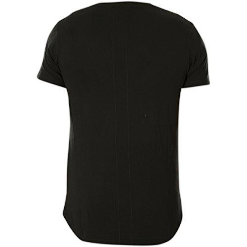 Religion T-Shirt Pub MBPUF07 Jet Black Schwarz Schwarz