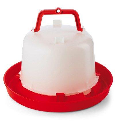 Stülptränke Tränke mit Henkel für Hühner und Wachteln 5 Liter