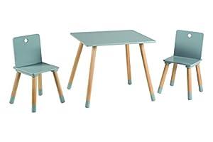 Roba-kids 450019GA - Conjunto de mesa y sillas de juego, color gris