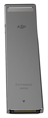 DJI CINESSD - Disco duro de 480 GB para drone Inspire 2, color negro