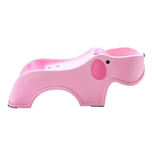 Yzibei Leicht zu reinigen Kreatives justierbares Shampoo-Stuhl-Shampoo-Bett-Kindershampoo-Klappstuhl