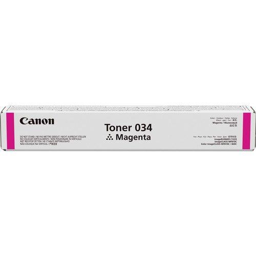 Canon 034 7300páginas Magenta – Tóner para impresoras láser (7300 páginas, Magenta, 1 pieza(s))