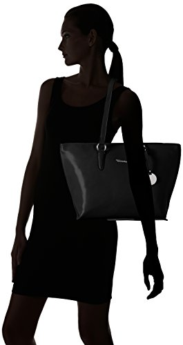 Tamaris - Neve Shopping Bag, Borsa shopper Donna Nero (nero)