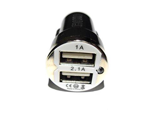 C63USB Port KFZ-Ladegerät Adapter 12Volt. Twin Port USB-Ladegerät. (Logitech Iphone Case 6)