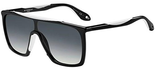 Givenchy gv 7040/s 9o tem, occhiali da sole uomo, nero (black white/grey), 99