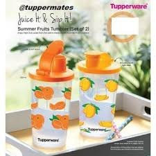 Tupperware Oz Tumbler 350 Ml Set Of 2