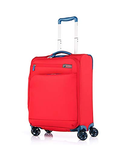 Verage Visionary Reisekoffer Handgepäck | 4 Rollen Stoff Trolley mit TSA-Schloss |...