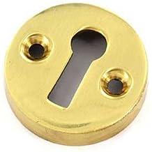 Securit - Escudo de cerradura para puertas (35mm), diseño victoriano